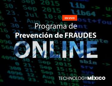 Programa de Prevención de FRAUDES ONLINE