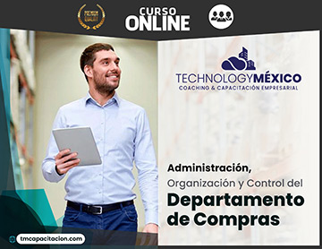 Administración, Organización y Control del Departamento de Compras