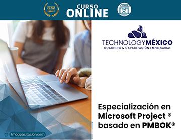 Especialización en Microsoft Project® basado en PMBOK®