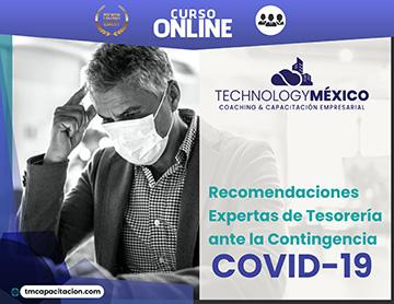 Recomendaciones Expertas de Tesorería ante la Contingencia COVID-19