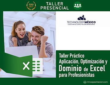 Taller Práctico: Aplicación, Optimización y Dominio de Excel para Profesionistas