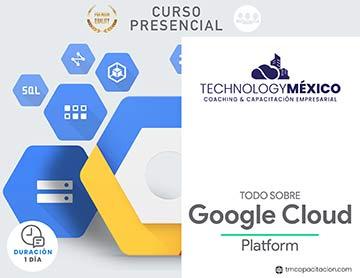 Todo sobre Google Cloud Platform